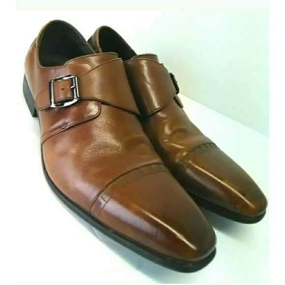Stacy Adams Mens Macmillian-Cap Toe Monk Strap Slip-On Loafer Select SZ//Color.
